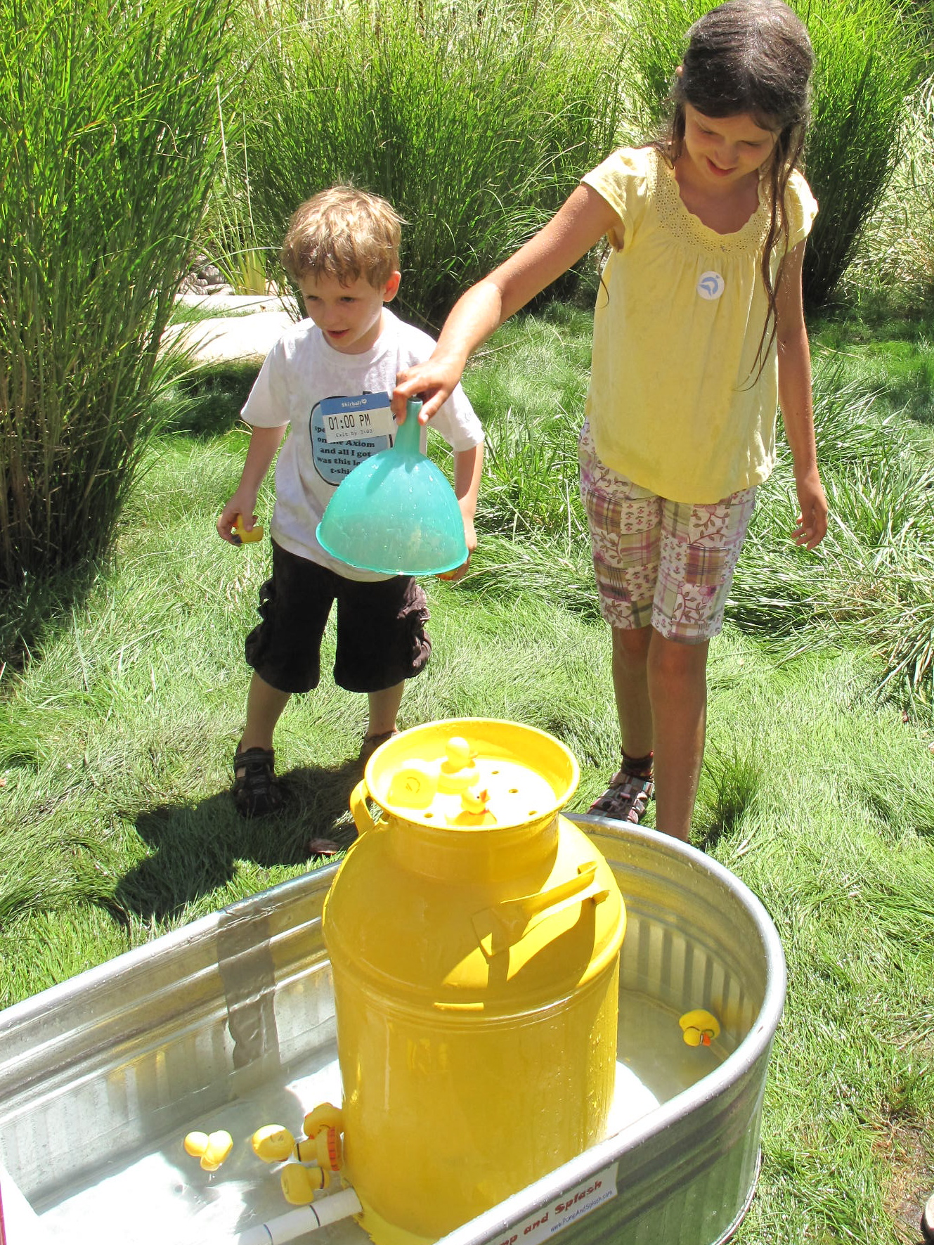 &quot;Pump and Splash&quot; at Skirball Water Day.