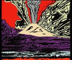 Mount Vesuvius,  Andy Warhol