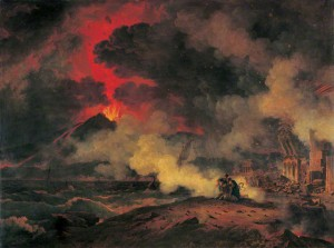 Pierre-Henri de Valenciennes. The Eruption of Vesuvius August 24, 79 A.D., 1813. Museum of Fine Arts, Boston